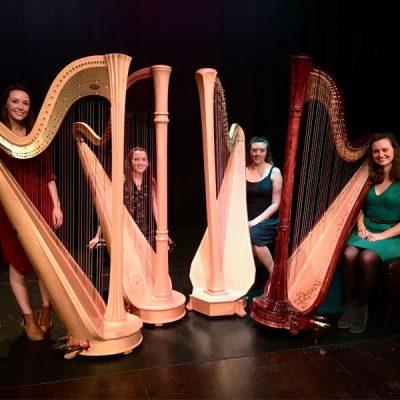 Music in Lanark: Clouds Harp Quartet