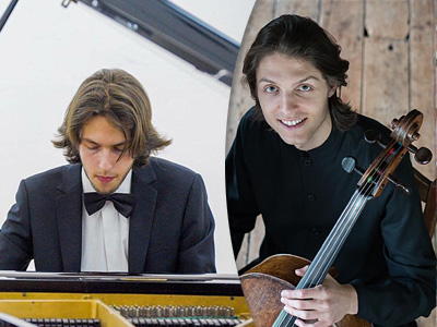 Damir and Frankie, Piano and Cello: Music in Lanark