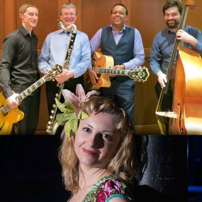 Music in Lanark: Dave Lee Swingtet and Alison Affleck