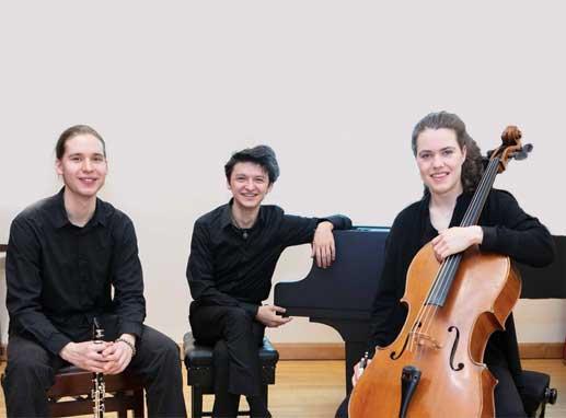 RCS Clarinet Trio - Music in Lanark